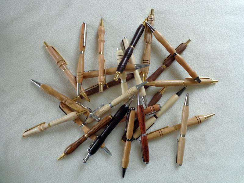 Schreibgeräte individuelles Holz