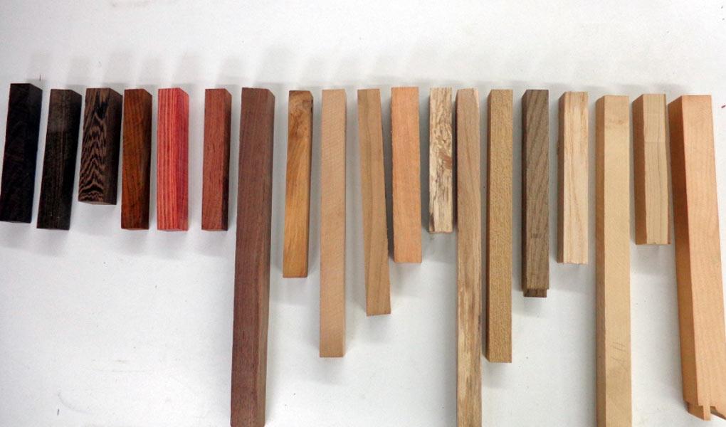 60 Holzarten